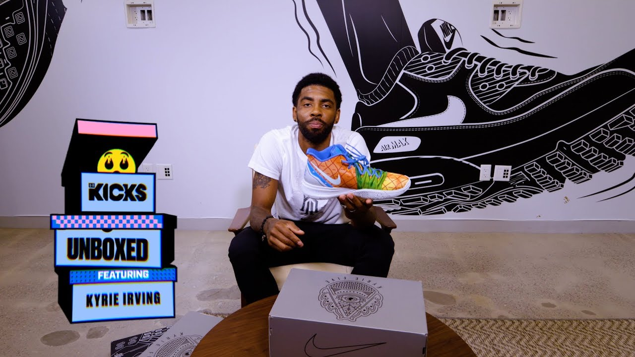 B/R Kicks Unboxed BONUS: Kyrie Irving's Spongebob Pack Includes A 6th Bikini Bottom Pair