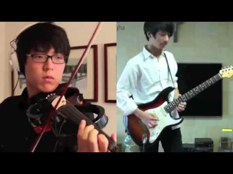 "Can you play like this ? ""Canon Rock by Jun SungAhn & Jung SungHa ..."