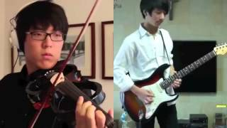 "Can you play like this ? ""Canon Rock by Jun SungAhn & Jung SungHa"""