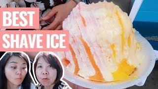 FINDING THE BEST SHAVE ICE IN OAHU! Matsumoto, Island Vintage, Waiola, and more!