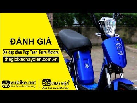 Đánh giá xe đạp điện Pop Teen Terra Motors