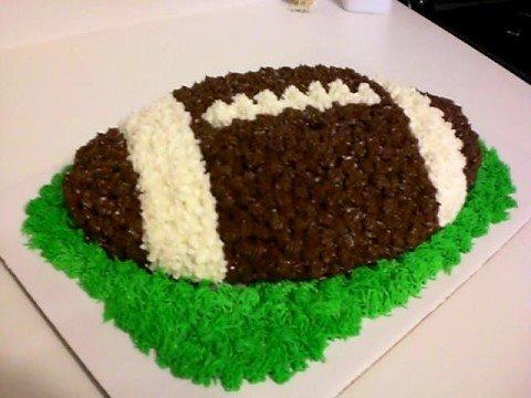 Football cake YouTube