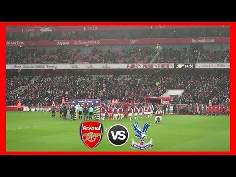 Arsenal V Crystal Palace VLOG