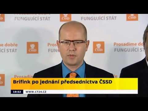 B.Sobotka: Odmítám vnitrostranický puč, chci prosadit programové priority ČSSD ve vládě