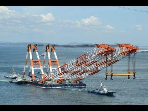 起重機船 寄神建設 海翔 / Crane Barge KAISHO