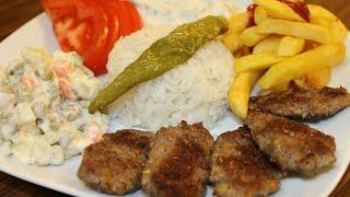 1 dakikada kuru köfte tarifi - en pratik haliyle köfte nasıl yapılır? # kofte