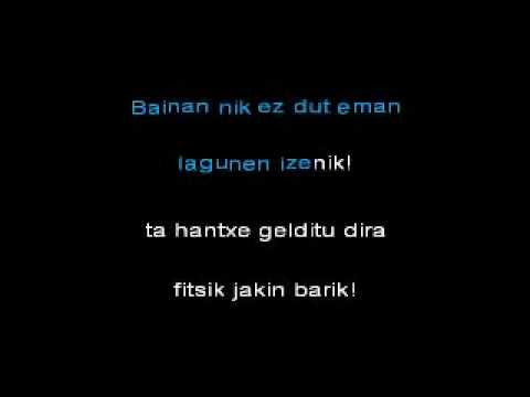 itziarren semea - karaoke