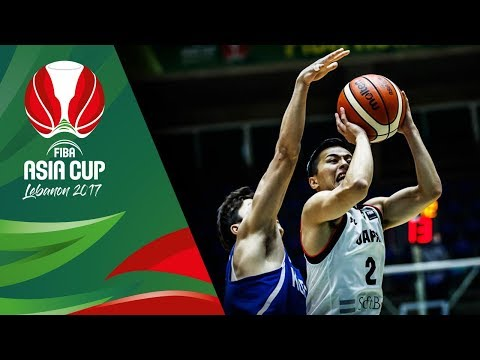 Japan's INSANE 360° Lay-up and NASTY Alley-Oop Slam (VIDEO) FIBA Asia Cup 2017