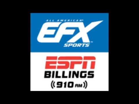 EFX Sports - ESPN Billings 910AM - Episode 33: Raye Hollitt