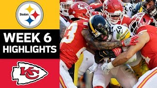 Steelers vs. Chiefs | NFL Week 6 Game Highlights