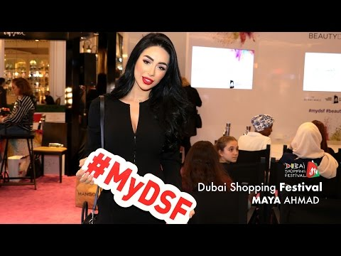 Dubai Shopping Festival | Maya Ahmad X Paris Gallery
