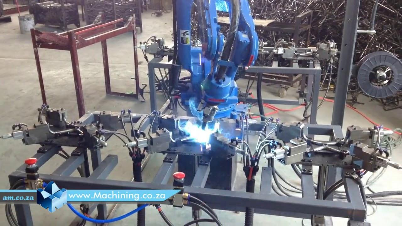 Yaskawa Motoman Robot Arc Welding Youtube