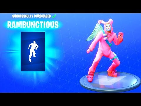 *NEW* RAMBUNCTIOUS DANCE EMOTE!! Fortnite Battle Royale