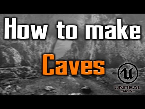 How To Make A Cave In UE4 (Unreal Engine 4)