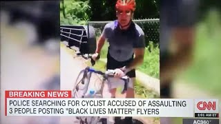 Maryland-nat'l Capital Park Cyclist Assaults Blm Activists Including Young Girl