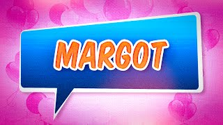 Joyeux anniversaire Margot