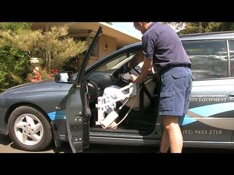 Para Mobility IBIS 150 Disabled Car Access Lifter Australian made ...