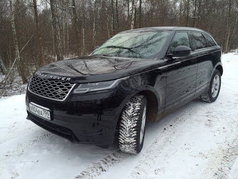 Новейший Range Rover с кнопками от ВАЗ. Velar.