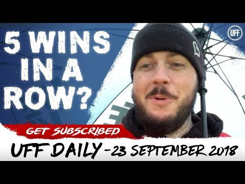 CAN EMERY MAKE IT 5 WINS IN A ROW? | UFF Daily
