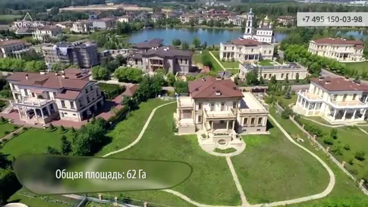 Элитный коттеджный посёлок СПб - YouTube