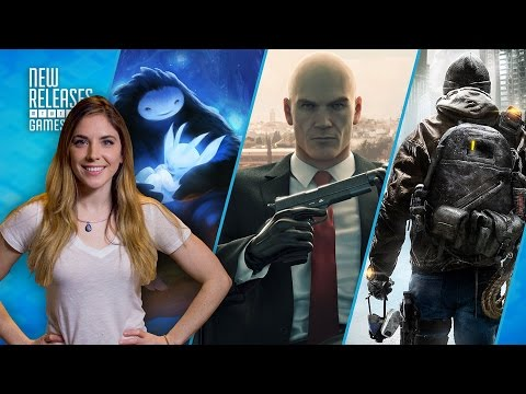 The Division, Hitman, Ori and the Blind Forest Definitive Edition - New Releases