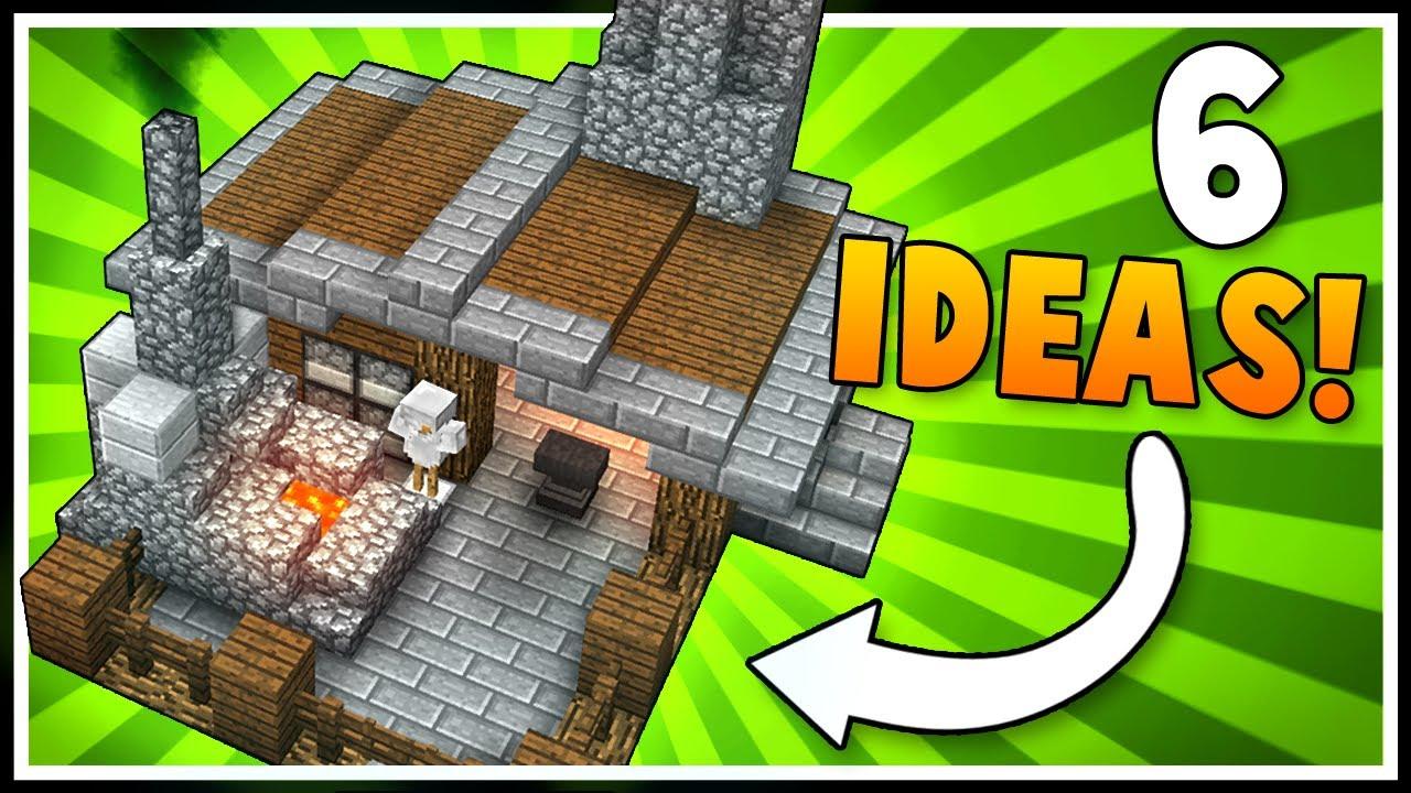 6 Armory Blacksmith Designs Ideas Minecraft Youtube