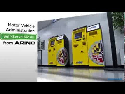 Maryland mva self service dmv kiosks youtube for Maryland motor vehicle administration
