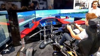 $50,000 Racing Simulator -- Thrustmaster T500RS (CES 2013)