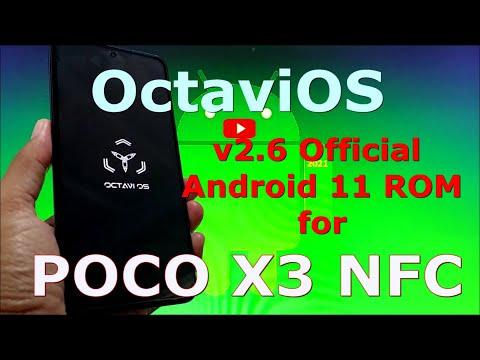 OctaviOS v2.6 Official Android 11 for Poco X3 NFC (Surya)