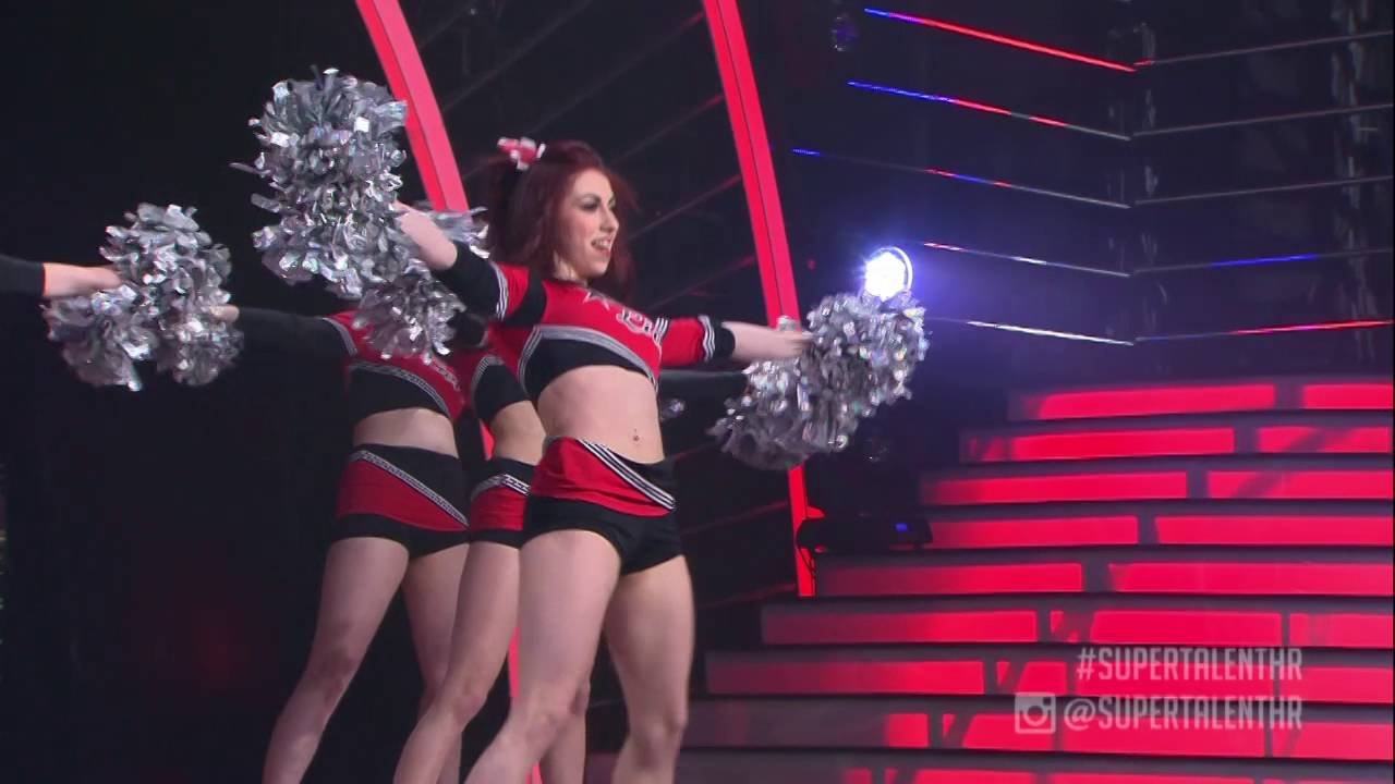 CHEERLEADERS LIVI - Wizards | cheerleading | Supertalent Hrvatska, 2016 | Polufinale