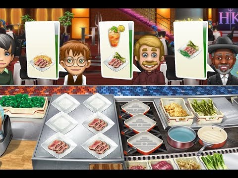 Cooking Fever Hell's Kitchen Update / Gameplay Walkthrough Part 7  iOS / Android