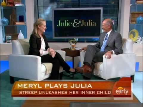 Meryl Streep is Julia Child