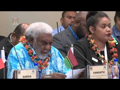 Leaders' response by the Deputy Prime Minister of Vanuatu