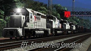 Translado VLi - Estrada de Ferro Sorocabana TS2016 HD