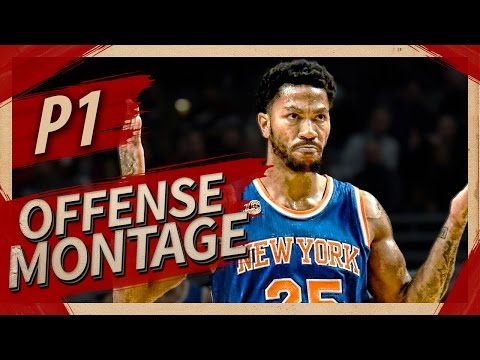 038559e70dc Derrick Rose UNREAL Offense Highlights Montage 2016 2017 (Part 1) - CRAZY  Crossovers
