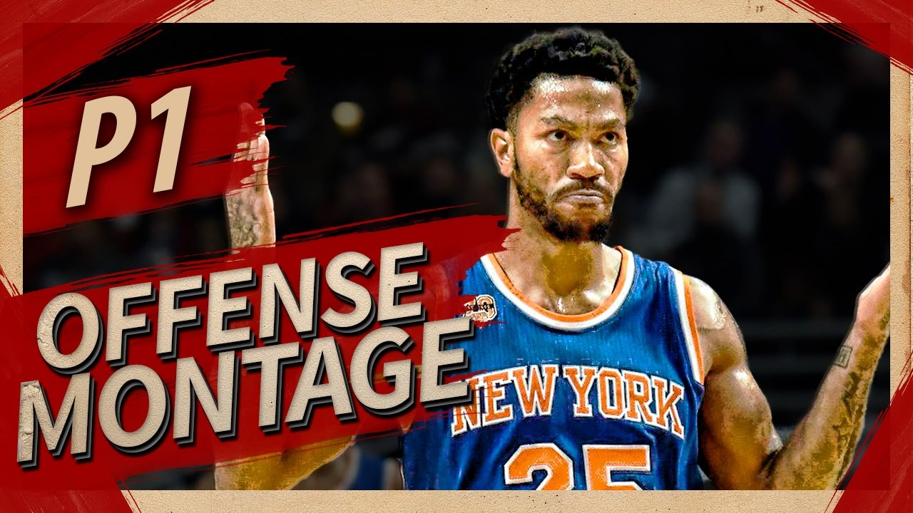 2c2e46f7a4b5 Derrick Rose UNREAL Offense Highlights Montage 2016 2017 (Part 1) - CRAZY  Crossovers