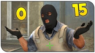 The Comeback Challenge! No Crosshair! CS:GO Silver Games!