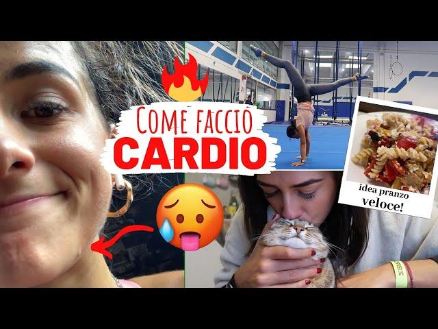 COME FACCIO CARDIO + Daily Vlog    Vlog #104