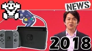Die Nintendo Spieleflut geht 2018 weiter! | Gamecube Controller Support für Switch!  - NerdNews #186