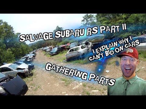 Salvage Subaru RS Rebuild Part 2