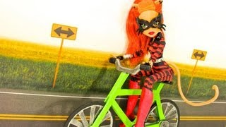 How To Make A Doll Bicycle - Doll Crafts