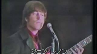 NHKおしゃべり人物伝(1985年9月20日放映)より ジョン・レノン特集。