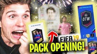 Ich habe eine LEGENDE GEZOGEN! | Fifa 19 Pack Opening