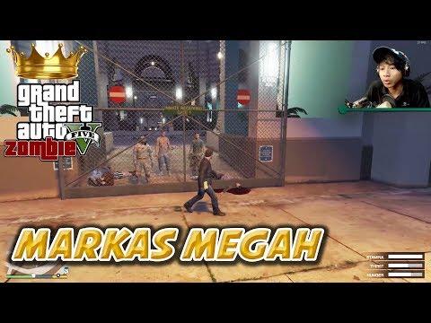 GTA 5 ZOMBIE SEASON 2 | MENCARI MARKAS BARU TENGAH KOTA - Part 5