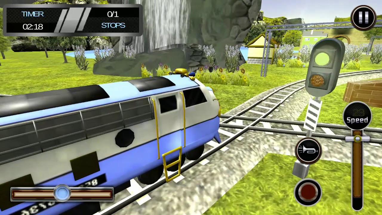 Metro Local Train Driving Simulator - YouTube
