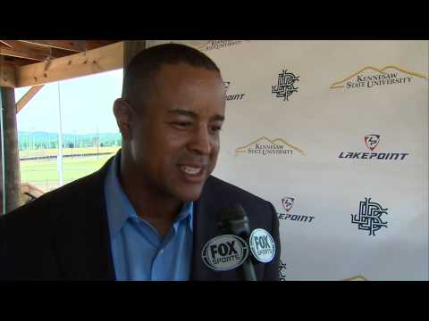 Brian Jordan Foundation, Kennesaw State, LakePoint Sports announce partnership