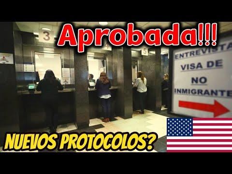 VISA AMERICANA USA 🔴 Nuevos PROTOCOLOS ⚠ (Que cambio?) 🤔| Tips para que sea APROBADA 😱 100% REAL ✅