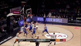 #EuroLeague: Ekim Ayı En İyi Bloklar