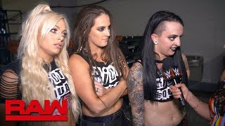 The Riott Squad will continue to scratch and claw their way to the top: Raw Exclusive, June 11, 2018
