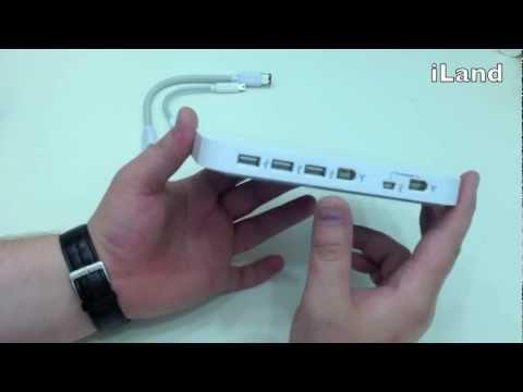 Belkin USB 2.0/FireWire - Обзор концентратора для Mac Mini Belkin ...